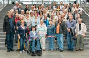 Gruppenfoto Besuch im Bundestag